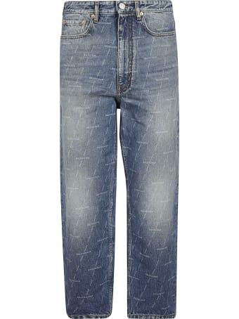 Balenciaga All-over Logo Jeans