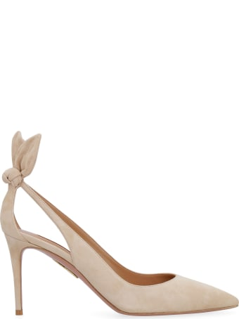 Aquazzura Deneuve Suede Pumps