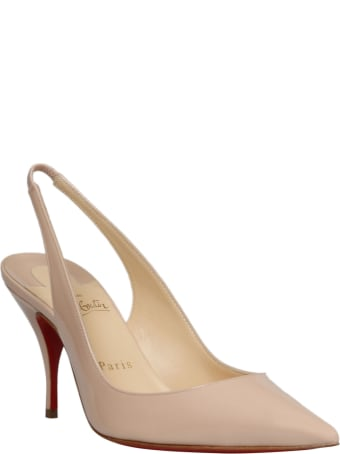 Christian Louboutin Clare Patent Leather Sling