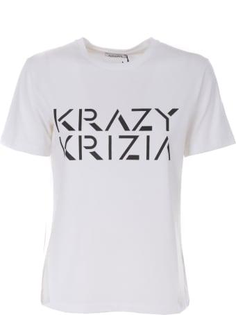 Krizia Logo Print T-shirt