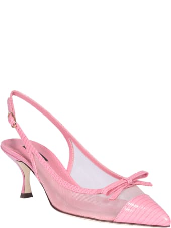 Dolce & Gabbana Slingback With Bow