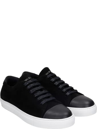 National Standard Edition 3 Sneakers In Black Suede