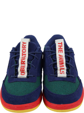 The Animals Observatory Multicolor Sneakers For Boy