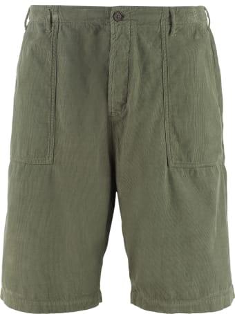Universal Works Fatigue Cotton Bermuda Shorts