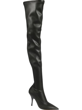 Rochas Side-zipped High Boots
