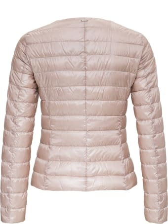Herno Lightweight Nylon Pink Jacket