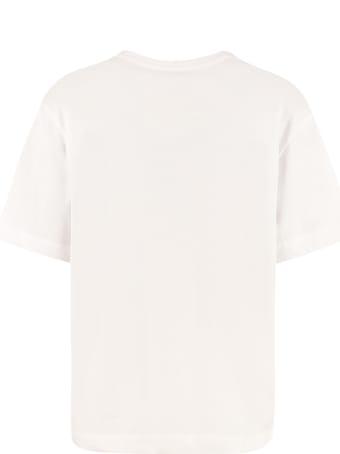 Boutique Moschino Printed Cotton T-shirt