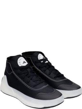 Adidas by Stella McCartney Asmc Treino Md Sneakers In Black Synthetic Fibers