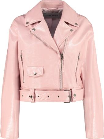 STAND STUDIO Selena Faux Leather Biker Jacket