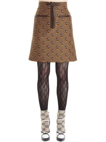 Gucci 'gg Canvas' Skirt