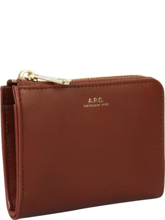 A.P.C. Wallet With Logo