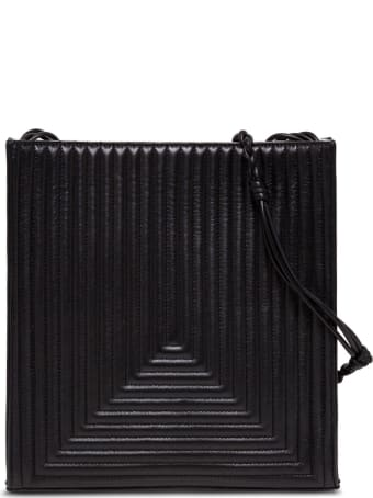 Jil Sander Tangle Crossbody Bag In Quilted Leather