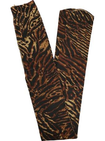 Ganni Tigers Eye Tights