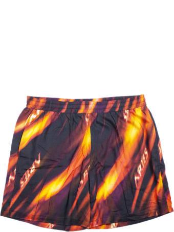 Aries Fyre Board Swimming Shorts