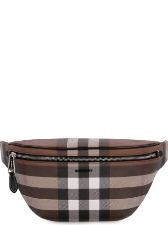 Burberry Checked E-canvas Belt Bag