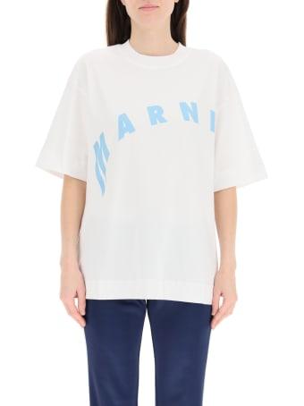 Marni Oversized T-shirt With Logo