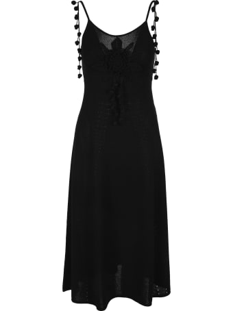 Loewe Embroidered Knit Dress