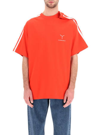 Y/Project T-shirt With Asymmetrical Shoulder
