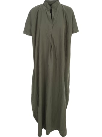 Daniela Gregis Cotton Dress S/s W/collar