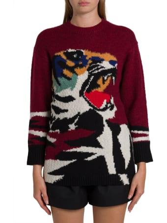 Kenzo Tiger Intarsia Sweatshirt