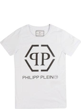 Philipp Plein Junior Ss Philipp Plein Tm Round Neck T-shirt