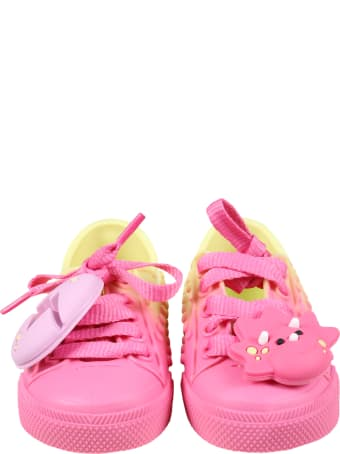 Melissa Multicolor Shoes For Girl With Egg