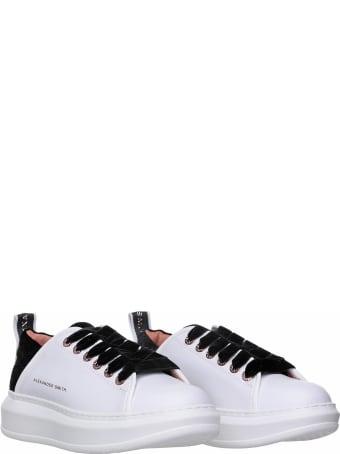 Alexander Smith London Alexander Smith Wembley White Sneakers
