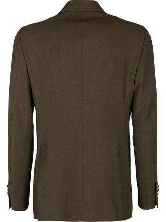 Gabriele Pasini Dark Green Wool Blend Two-piece Suit
