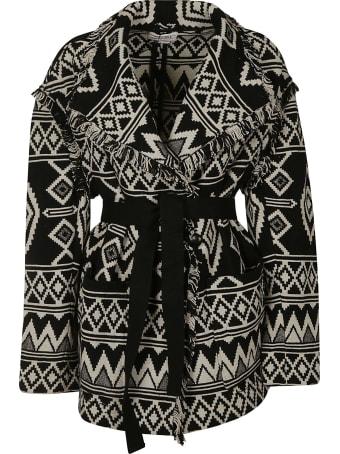 Isabel Marant Belted Knitted Cardi-coat