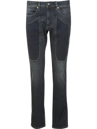 Jeckerson Patch Detail Jeans