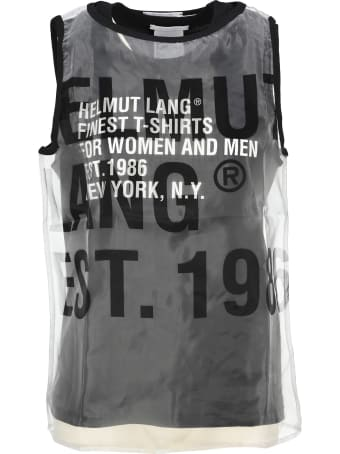 Helmut Lang Double Layer Top