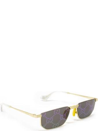 Gucci Gucci Gg0627s Gold Sunglasses
