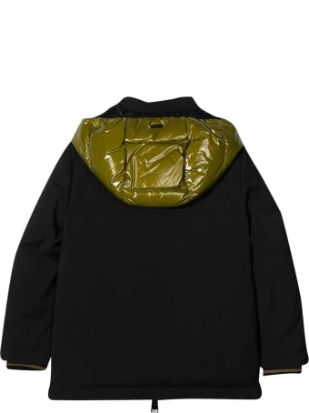 Herno Padded Black Coat