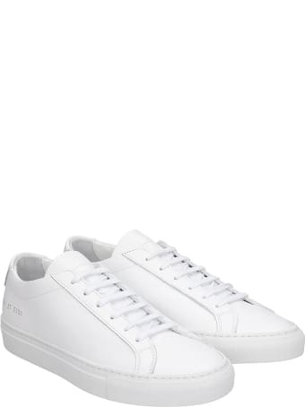 Common Projects Original Achill Sneakers In White Leather