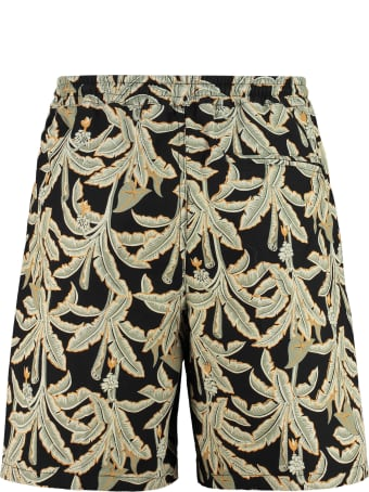 Department 5 Collins Printed Cotton Bermuda Shorts