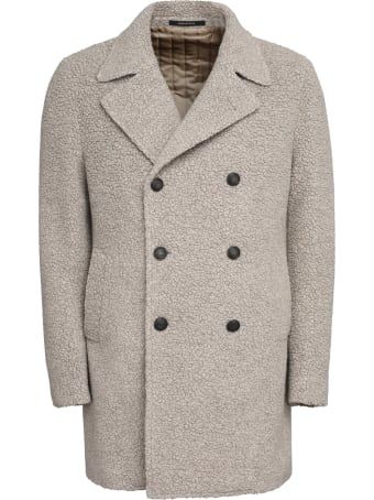 Tagliatore Stephan Eco-shearling Coat