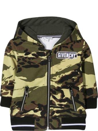 Givenchy Camouflage Print Sweatshirt