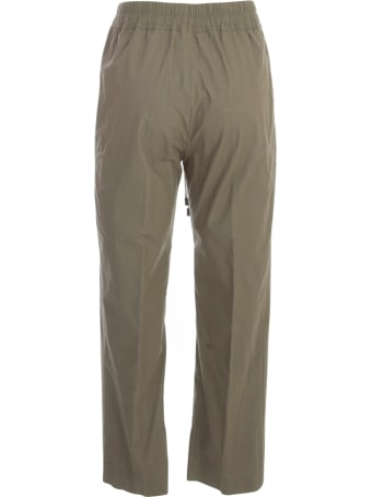 Gentry Cotton Pants W/coulisse