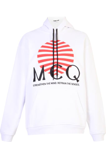 McQ Alexander McQueen Embroidered Sweatshirt