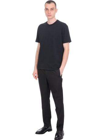 Mauro Gasperi Pants In Black Cotton