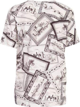 Joseph Rd Nk Ss T-shirt Marocco Printing