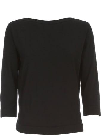Nuur Viscose Sweater 3/4s Boat Neck