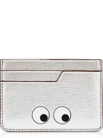 Anya Hindmarch Silver Eyes Card Case