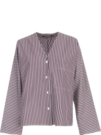 Sofie d'Hoore Oversized Armholes Shirt W/chest Pocket