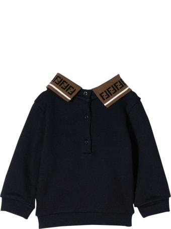 Fendi Kids Ffast Sweatshirt With Print