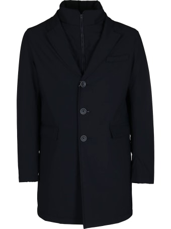 Herno Black Feather Down Coat