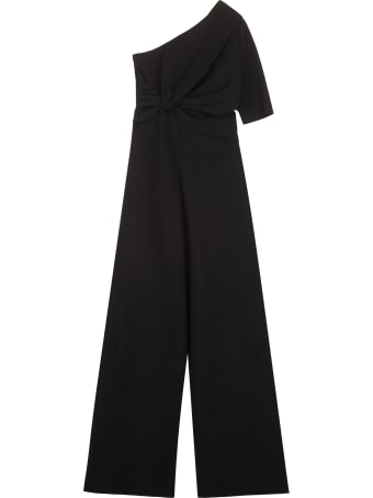 Stella McCartney Draped One-sleeve Jumpsuit