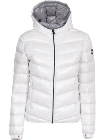 Colmar White Glossy Down Jacket
