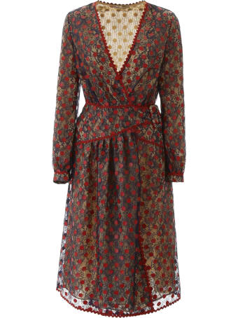 Marco de Vincenzo Lace Dress With Polka Dots