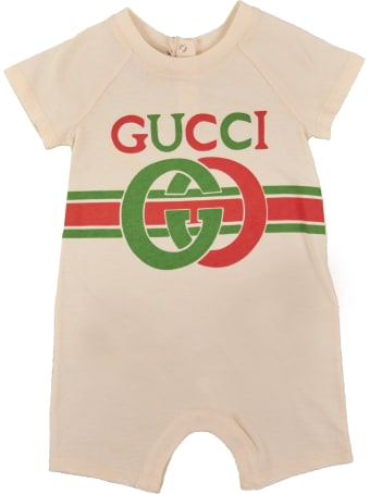 Gucci Logo Print All In One